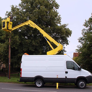 Van Mounted Boom Lift - Operated